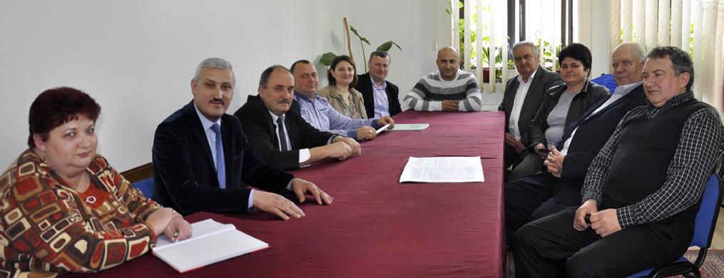 Ședința Consiliului Local Tomești